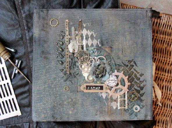 Оформление альбома: идея декорирования
