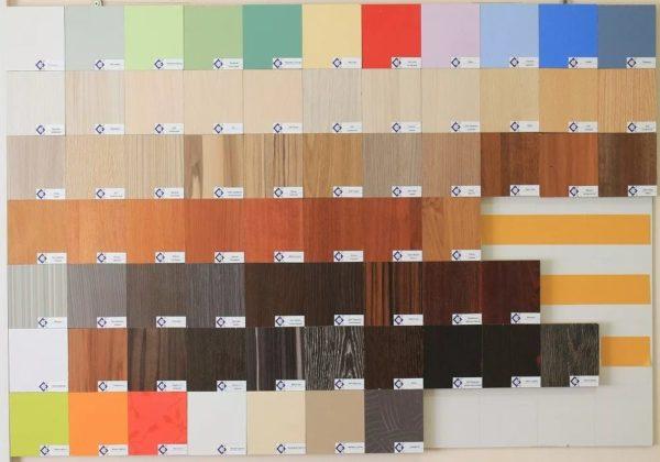 Плиты ЛДСП продают в различных оттенках