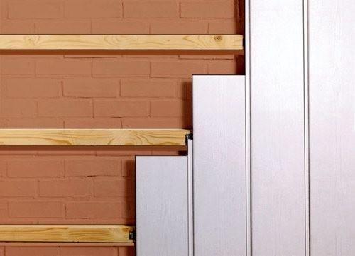 Как крепить пластиковые панели к стене: инструкция