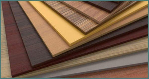 Ламинированное ДСП отличается декоративными свойствами