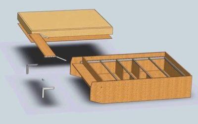 Шаг 3 – крепление боковых частей корпуса