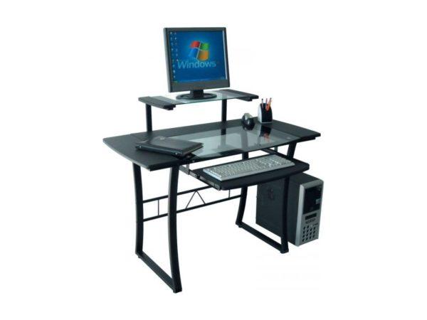 Металл применяют при создании компьютерных столов