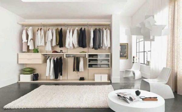 В гардероб от Икеа можно вместить большое количество вещей