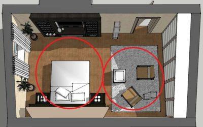 Шаг 3: подобрать оптимальное количество предметов обстановки