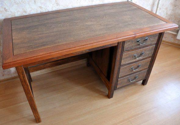 Если уже имеется опыт изготовления мебели, то можно создать и более сложную конструкцию