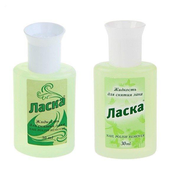 Жидкость для снятия лака - средство, которое также может помочь нам удалить надоевшие следы скотча