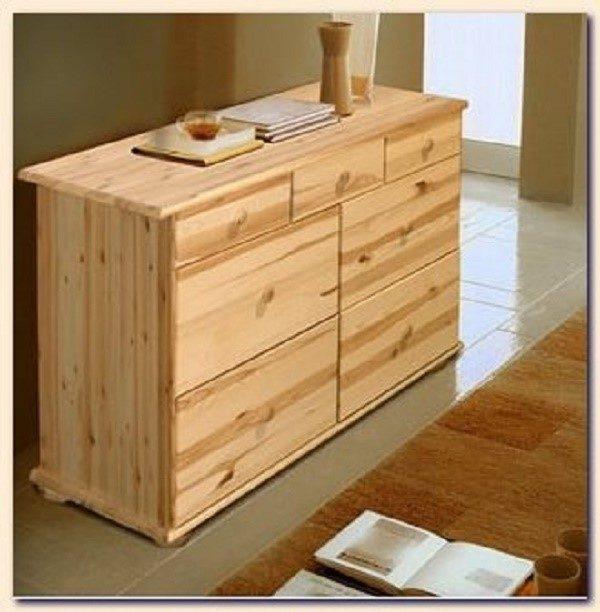 Сосна - прекрасный материал для самостоятельного создания мебели