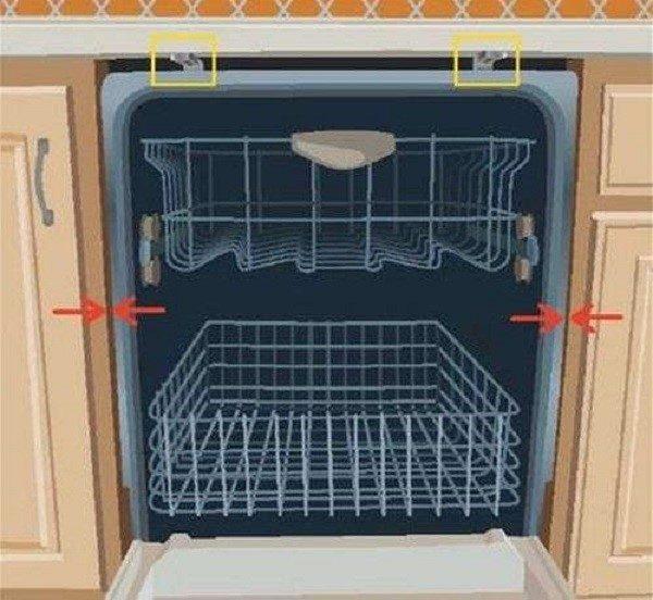 Следуя инструкции, зафиксируйте машинку внутри предназначенной для нее ниши