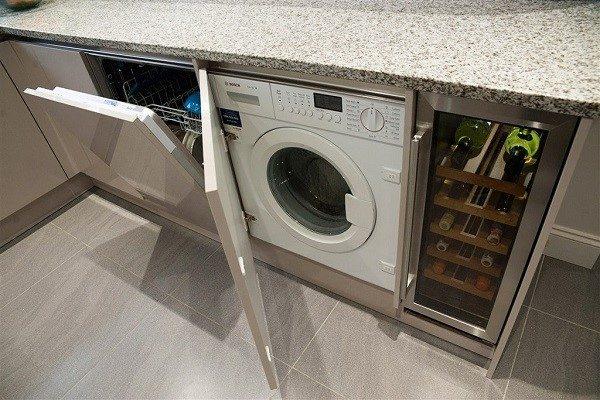 Столешницу необходимо изолировать после установки посудомойки