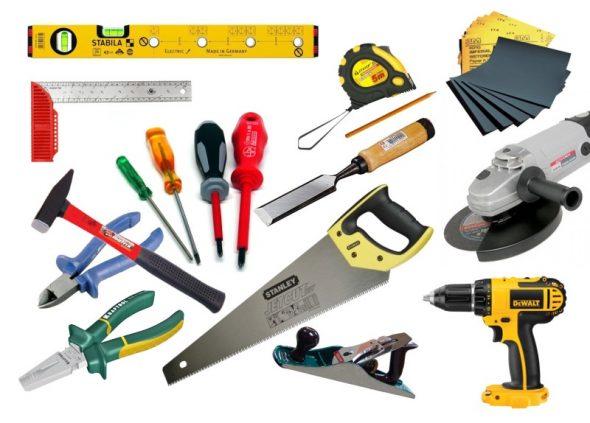Необходимые инструменты для изготовления мебели