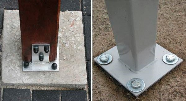 Под анкера в стене необходимо просверлить отверстия перфоратором