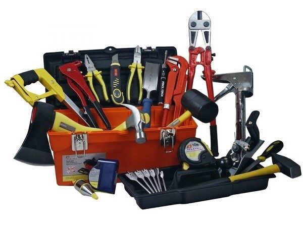 Не забудьте собрать нужные инструменты, без них нам не удастся собрать шкаф