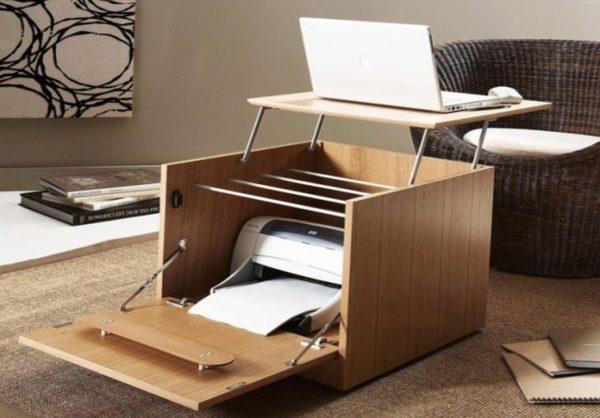 Пример многофункциональной мебели
