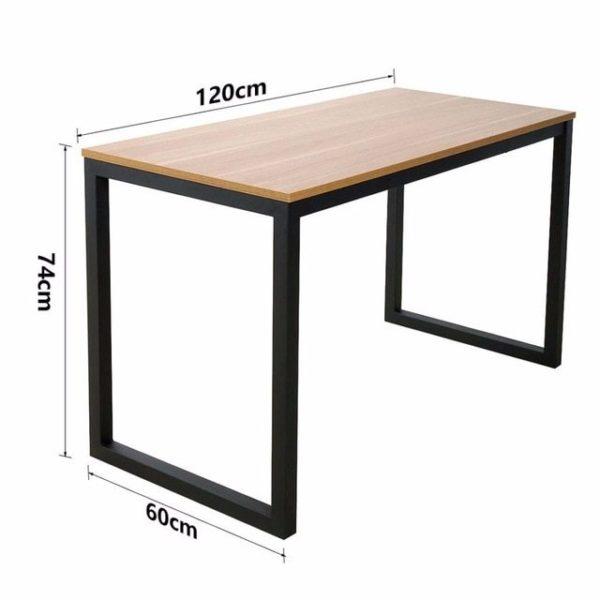 Стандартные размеры столешницы прямой формы