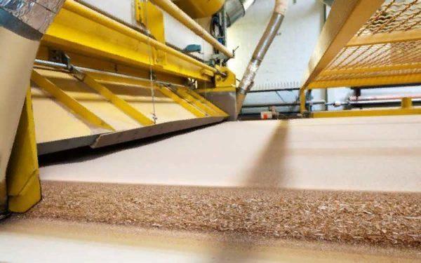 Процесс изготовления плиты МДФ