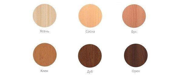 Наиболее распространенные породы дерева, подходящие для создания мебели