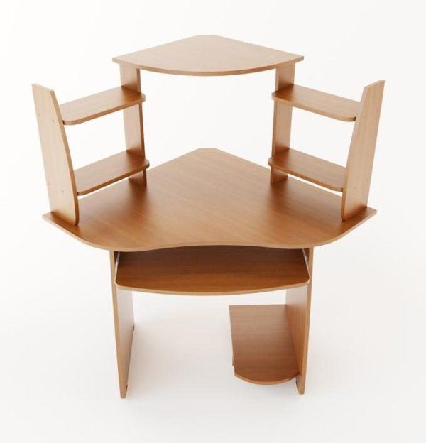 Конечный вид стола может быть дополнен на этапе сборки
