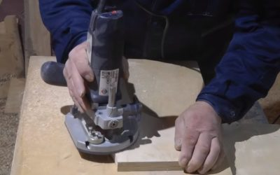 Шаг 7: фрезерование ножек