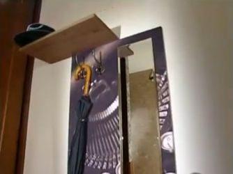 Готовая вешалка с зеркалом