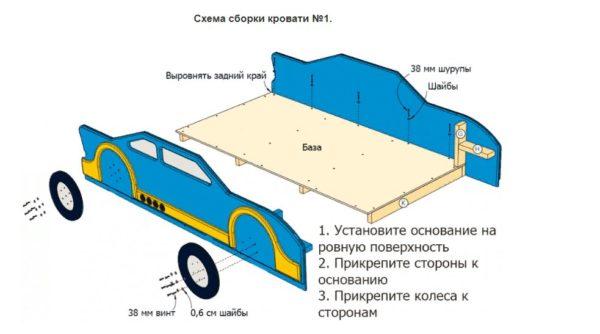 Схема сборки №1