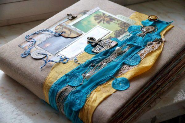 Отдых в Египте - тематика оформления фотоальбома