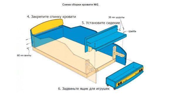 Схема сборки №2