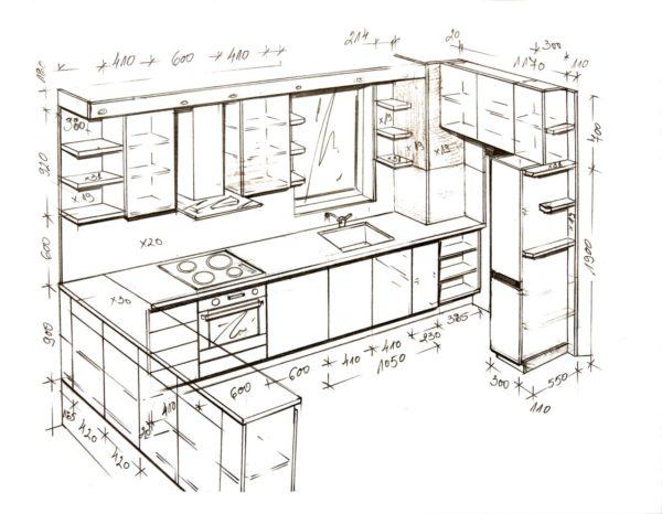 Вы можете подобрать подходящие размеры шкафов индивидуально