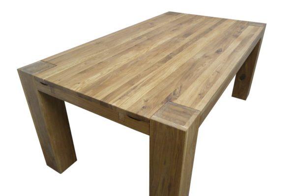 Дубовый раздвижной стол