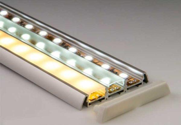Профили и рассеиватели для светодиодных лент не являются обязательными элементами