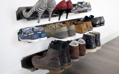 Настенная подставка для обуви