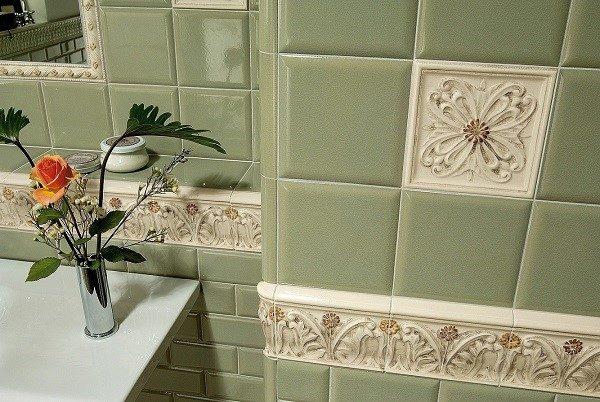 Плиткой можно оформить помещение в любом стиле