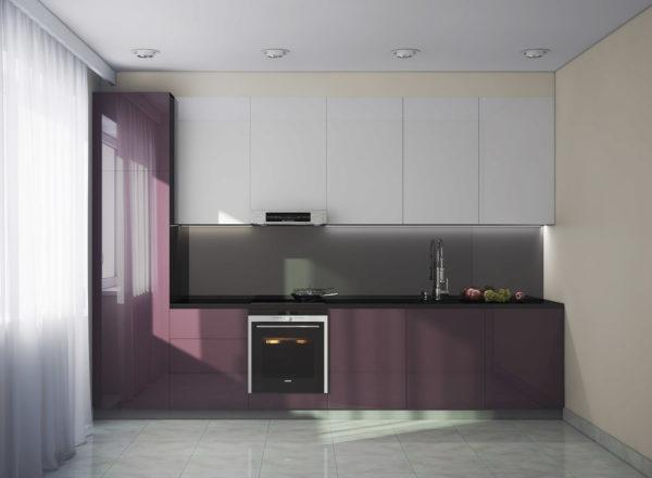 На фото показан не самый лучший вариант расположения мойки и плиты с точки зрения последовательности этапов технологического процесса – желательно, чтобы мойка располагалась в центре между холодильником и плитой