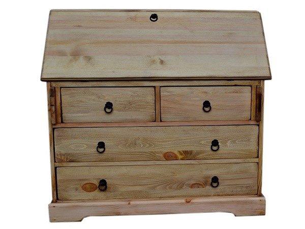Комод-бюро из массива сосны