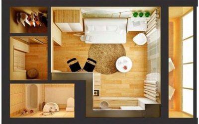 Маленькое пространство легко наполнить уютом и функциональностью, главное все продумать тщательно