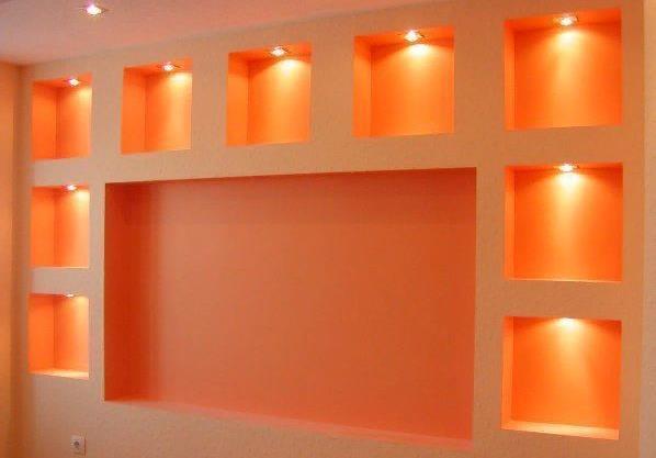 Для подсветки часто используют светодиодные лампы
