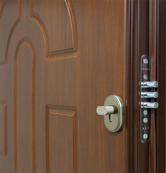 Дверь входная стальная Gerda CX-20, фото замка