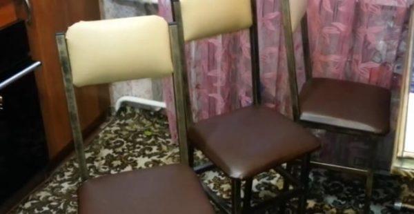 Готовые стулья