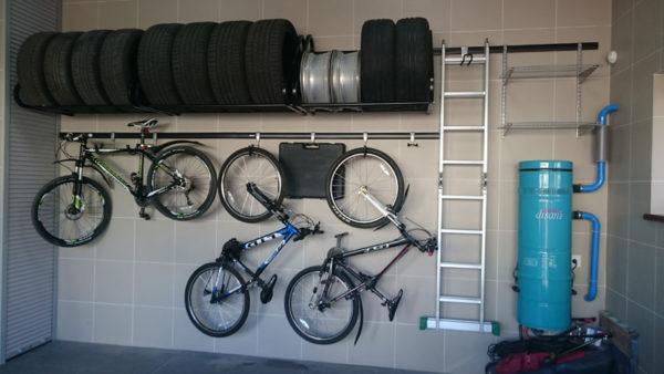 Хранение велосипедов в гараже