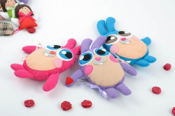 Игрушки своими руками из ткани