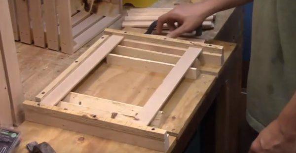 Изготовление дна ящика
