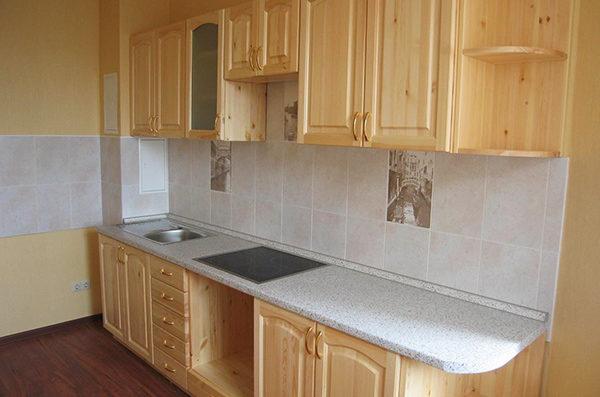 Кухня своими руками из мебельных щитов