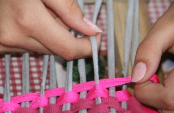 Начинаем плетение