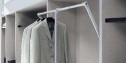Пантограф и штанги для одежды