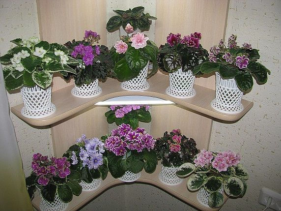 Полка для цветов своими руками