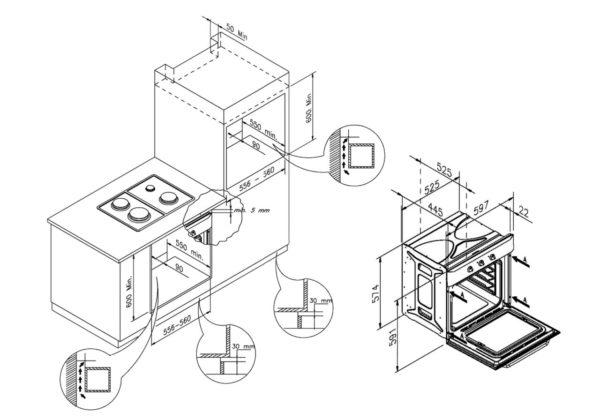 Пример схемы установки