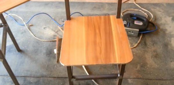 Примерка сидения
