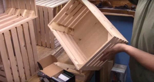 Так выглядит готовый ящик