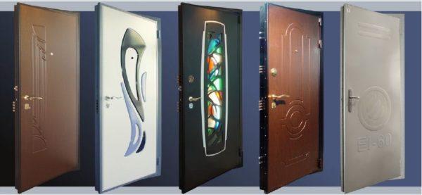 Внешний вид дверей Гардиан