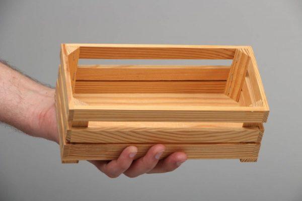 Ящик из дерева своими руками