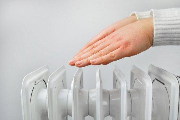 Эффективность обогревателя зависит от скорости прогрева воздуха в помещении